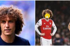 Ini jadinya jika 8 pesepak bola tiru gaya rambut David Luiz, kocak