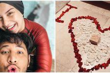 6 Momen kejutan ultah pernikahan Irish Bella untuk Ammar, romantis