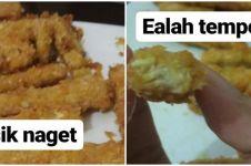 10 Potret realita makanan jauh dari ekspektasi, bikin gagal laper