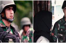 Potret prajurit TNI pamit anak istri demi tugas negara, penuh haru