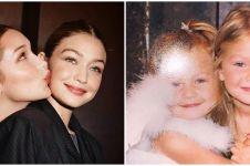 6 Potret kompak Bella Hadid dengan Gigi Hadid, sistergoals banget