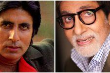 10 Transformasi Amitabh Bachchan, aktor Bollywood berkarisma