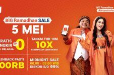 Puncak Shopee Big Ramadhan Sale 5 Mei, Banjir Promo Diskon Super Heboh