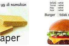 10 Meme lucu logika makanan ini recehnya bikin terhibur