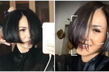 8 Momen Yuni Shara potong rambut di rumah, hasilnya tuai pujian