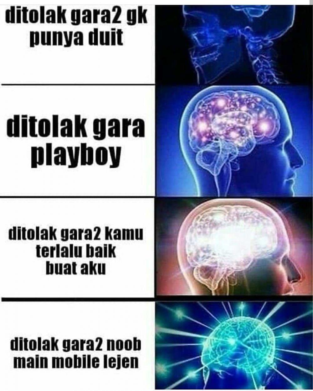meme player noob berbagai sumber