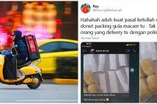 Bawa serbuk putih dikira sabu, kurir makanan ditangkap polisi