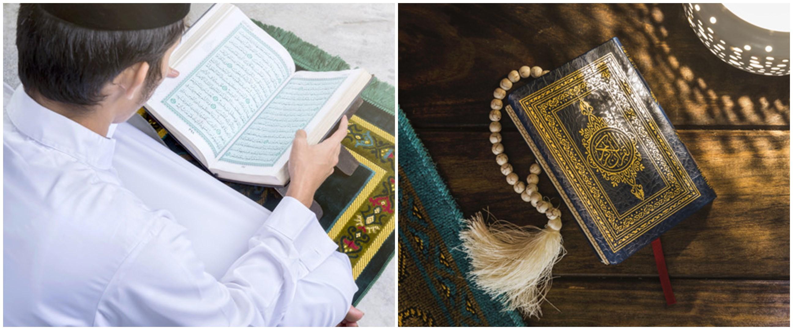Doa khatam Alquran di bulan Ramadhan, beserta arti & keutamaannya