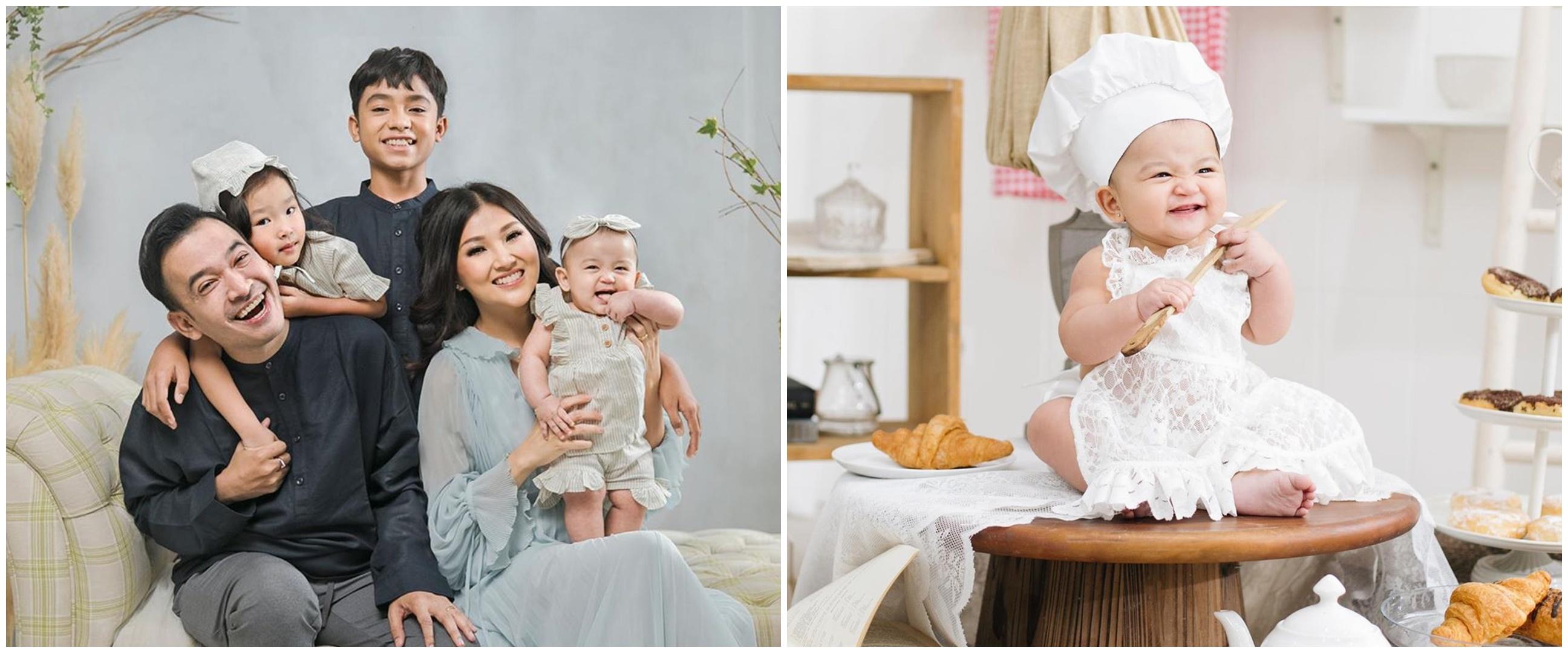 12 Pose gemas Thania Putri Onsu ini bukti fotogenik sejak bayi