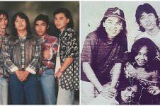 7 Potret lawas Erwin Prasetya bareng band Dewa 19, penuh kenangan