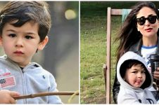 10 Potret gemas Taimur anak Saif Ali Khan dan Kareena Kapoor