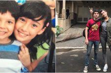 7 Potret kedekatan Tatjana Saphira & Endy Arfian, bak kakak beradik