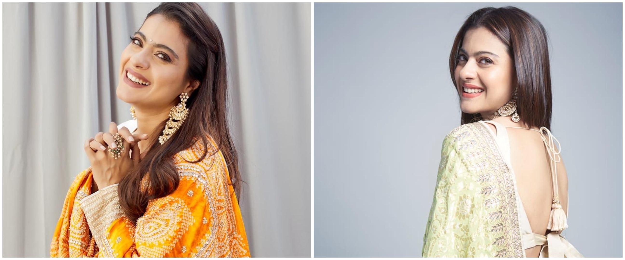10 Potret cantik Kajol, awet muda di usia 45 tahun