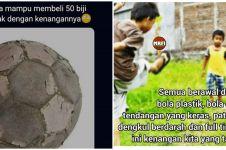 10 Meme kenangan bermain sepak bola, bikin kangen masa kecil