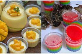 15 Resep puding cup untuk dijual, enak dan mudah dibuat