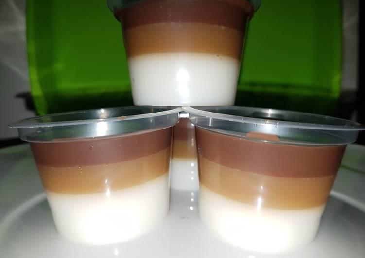 Resep puding cup untuk dijual Istimewa