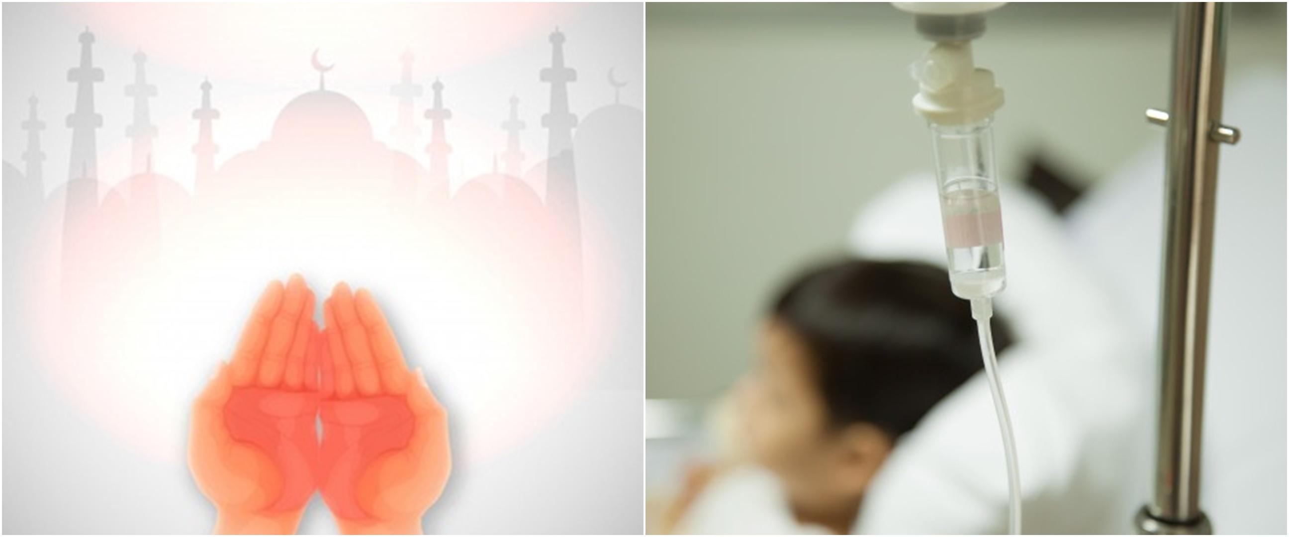 Doa untuk orang sakit dan adab membesuknya sesuai sunah Nabi