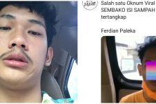 Teman Ferdian Paleka pemberi sembako isi sampah ditangkap polisi