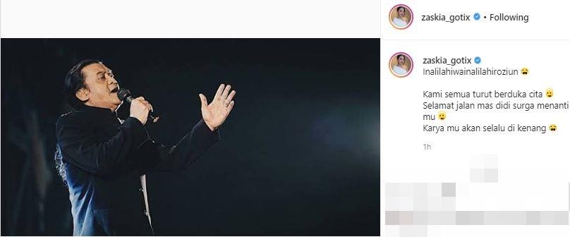 ucapan duka seleb Didi Kempot instagram