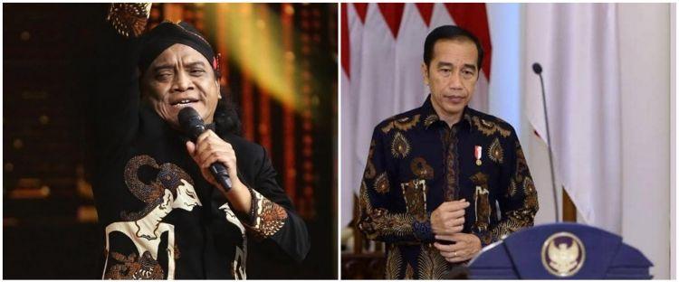 Didi Kempot meninggal, Jokowi: Selamat jalan Godfather of Broken Heart