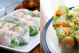 10 Resep salad roll Vietnam, enak, mudah dibuat, dan kekinian