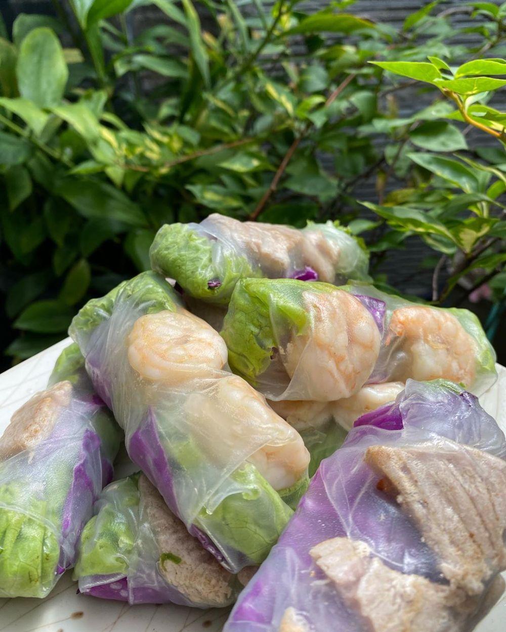 Resep membuat Vietnam Salad Spring Roll © 2020 brilio.net