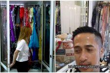 Potret lemari pakaian 7 penyanyi dangdut, punya Inul jadi sorotan