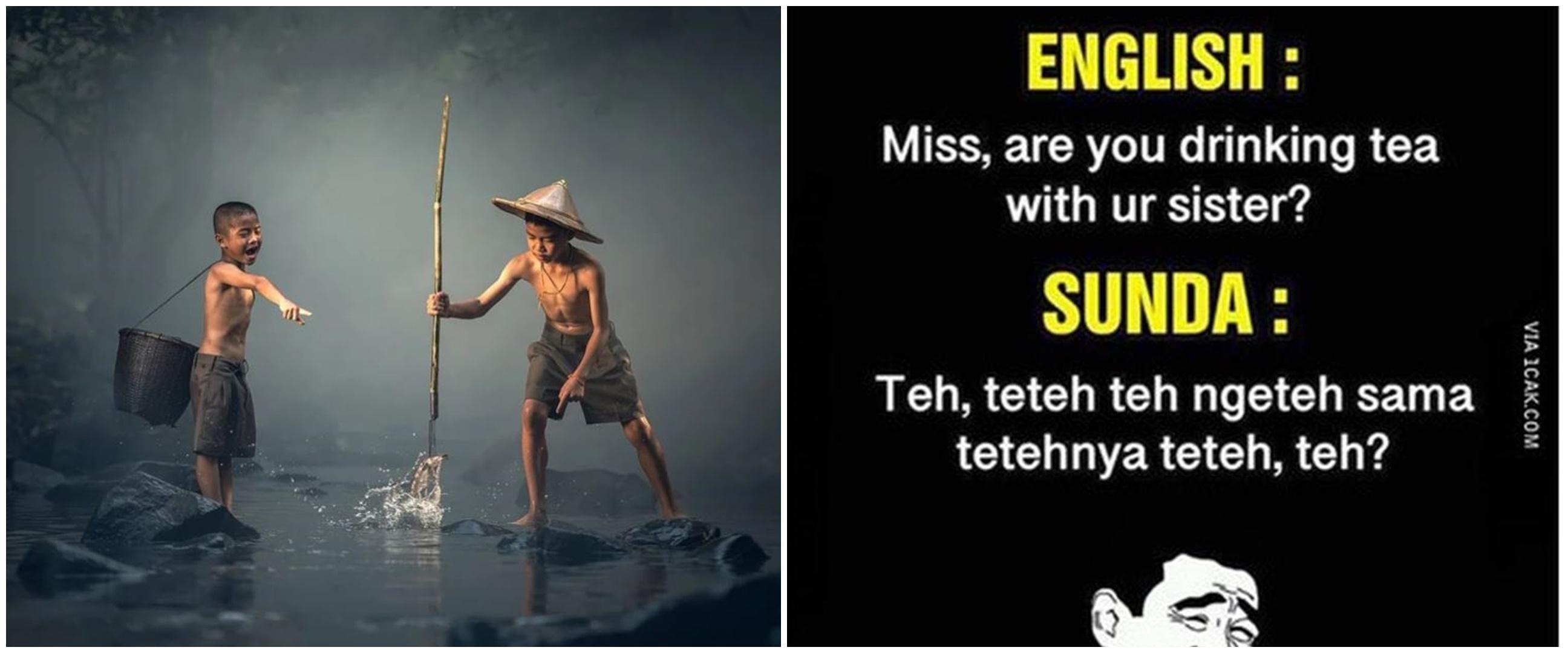 60 Kata-kata status FB lucu bahasa Sunda dan arti, bikin ngakak