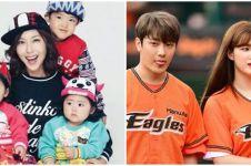9 Mantan idol K-Pop ini sudah berkeluarga, anaknya lucu-lucu