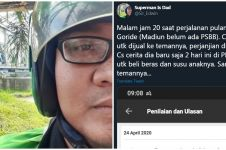 Kisah driver ojek online bantu penumpangnya korban PHK beli beras