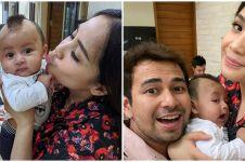 10 Momen Nagita Slavina momong baby Kiano, penuh kasih sayang
