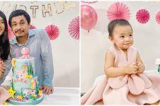 7 Momen ulang tahun ke-1 putri Raditya Dika, ceria bernuansa pink