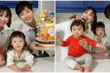 8 Momen perayaan ultah ke-2 anak pertama Lee Jeong Hoon