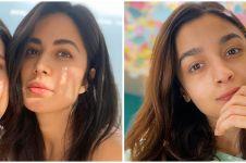 Potret natural 9 seleb Bollywood selama karantina, curi perhatian