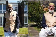 Kisah haru pria usia 100 tahun berpuasa sambil galang dana corona