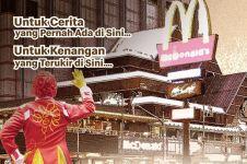 McDonald's Sarinah tutup, warganet ceritakan momen penuh kenangan