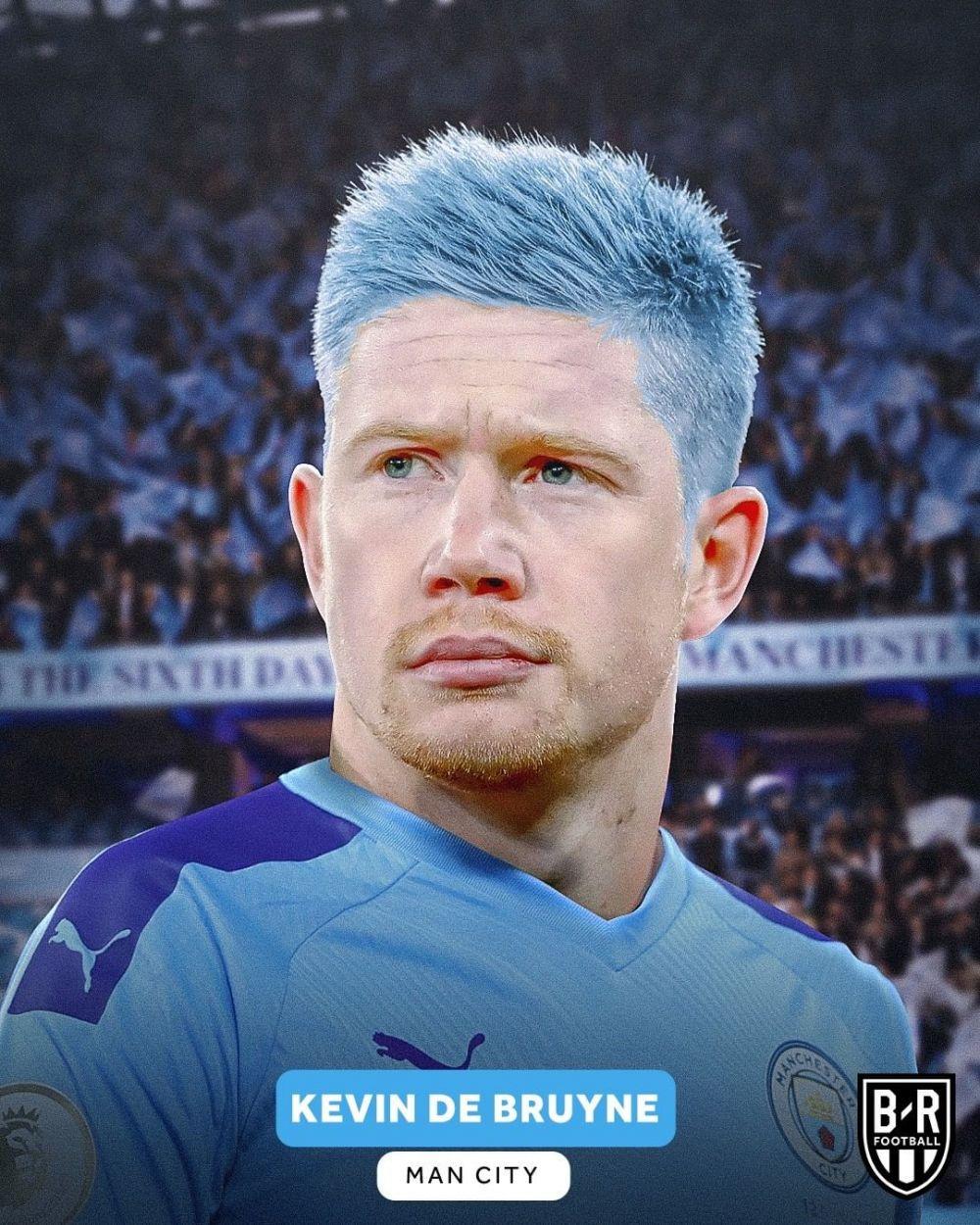 warna rambut pemain bola Instagram
