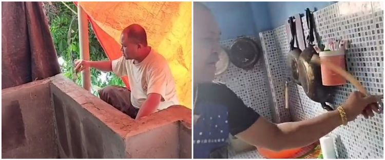 Viral video 'rumah aneh', penjelasan detail desainnya bikin ngakak