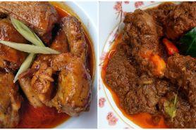 10 Resep rendang ayam, istimewa, enak, dan khas sajian Lebaran