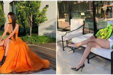 10 Pesona desainer Vera Wang, awet muda di usia 70 tahun