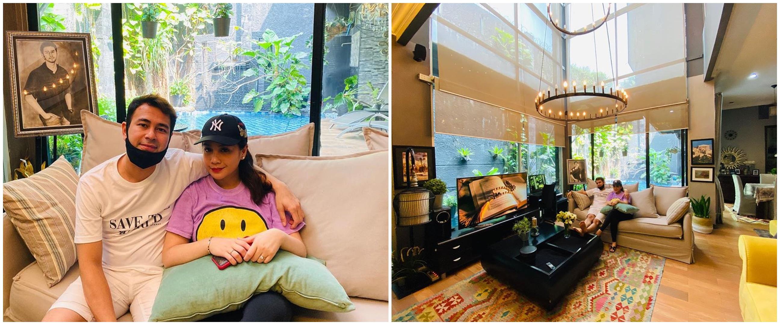 11 Potret rumah bujangan Raffi Ahmad, desainnya curi perhatian