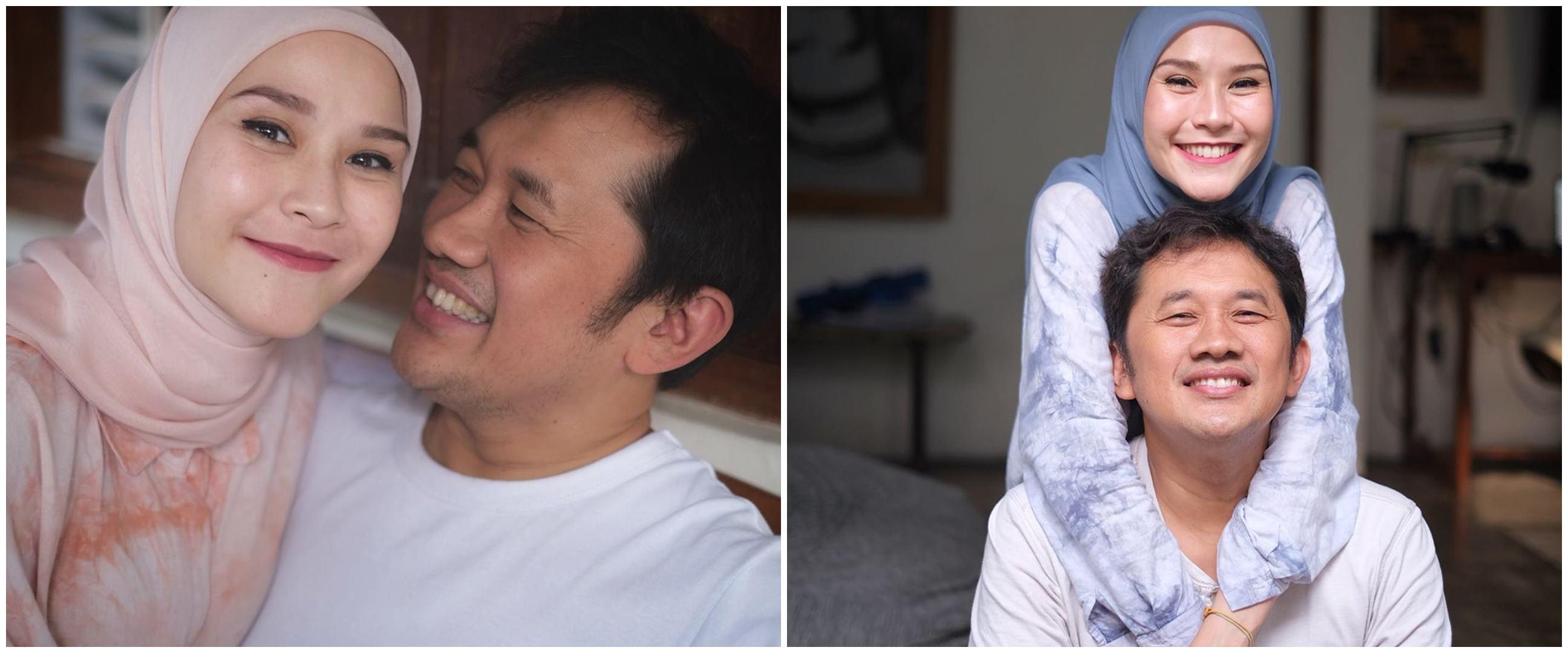Zaskia Mecca live di TV, aksi Hanung Bramantyo ini bikin gagal fokus