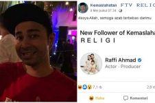7 Bukti Raffi Ahmad suka dengan meme di media sosial