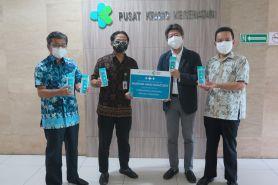 Cegah corona, Mandom Indonesia sumbang hand sanitizer untuk Kemenkes