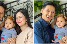 9 Momen ulang tahun pertama anak Tasya Kamila, digelar secara virtual