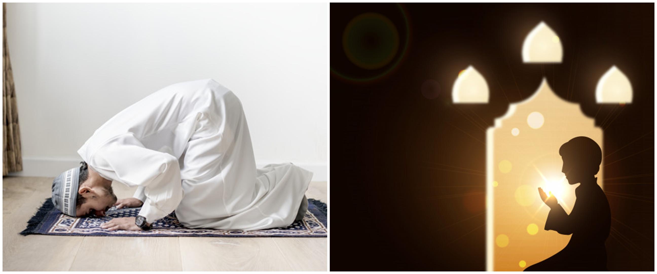 Tata cara sholat taubat nasuha, dilengkapi doa & waktu ya