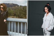 8 Potret menawan Vanesha Prescilla dengan outfit monokrom