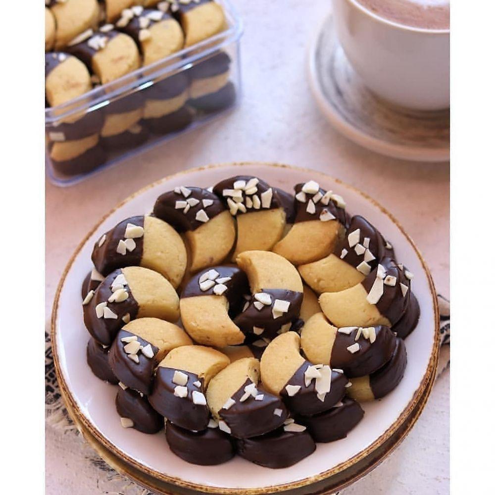 kue kacang cokelat instagram