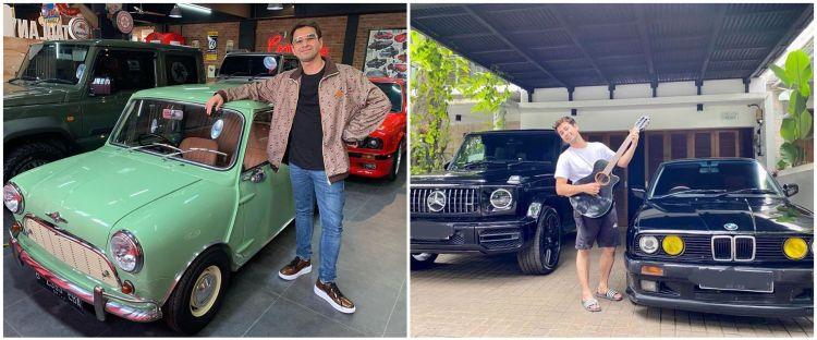 7 Potret mobil BMW peninggalan ayah Raffi Ahmad, nyaris dijual