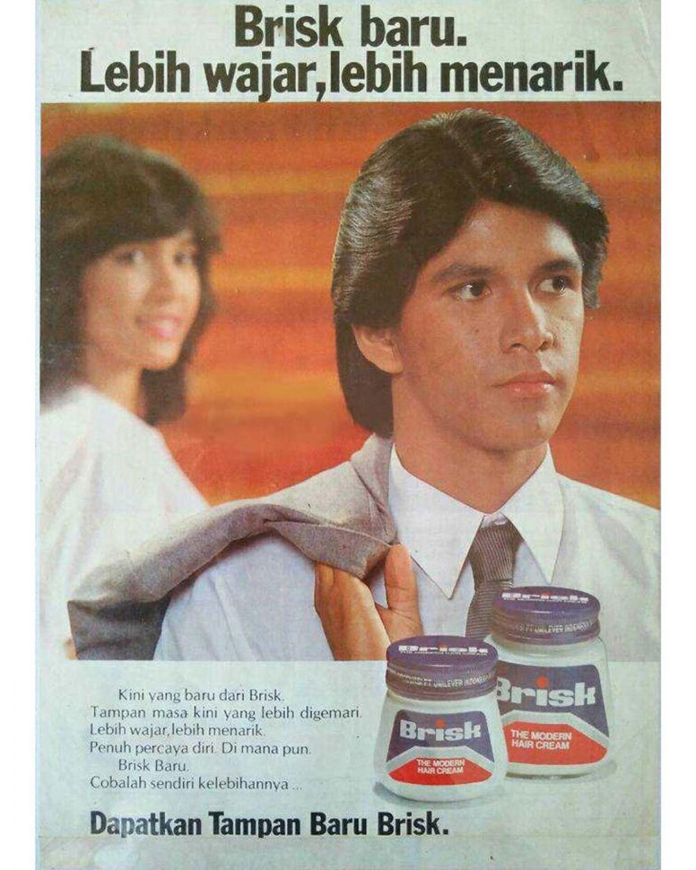 Pria iklan 80-an ini ternyata artis terkenal © 2020 brilio.net